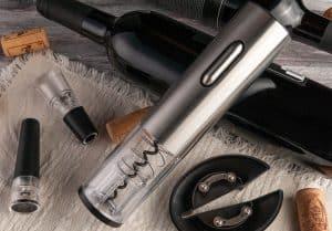 bigstock Electronic Cordless Corkscrew 351522212