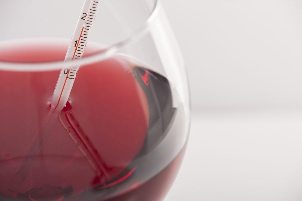 wine temperature